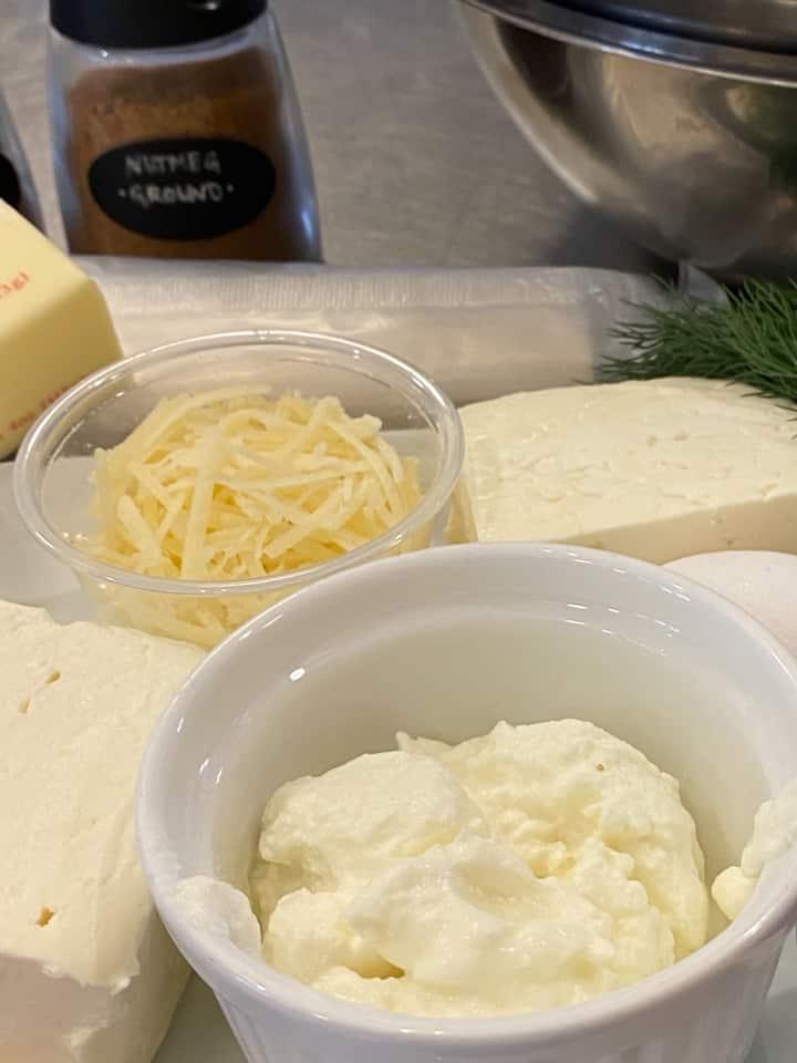 Spanakopita Cheeses