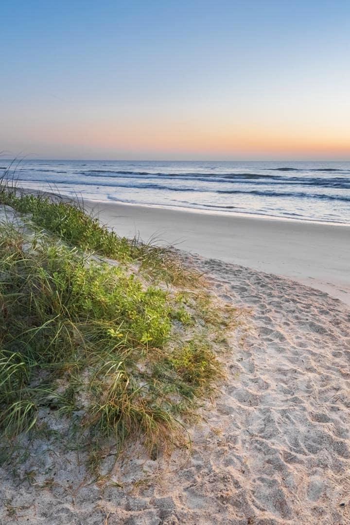 St Augustine Beach, our Destination!