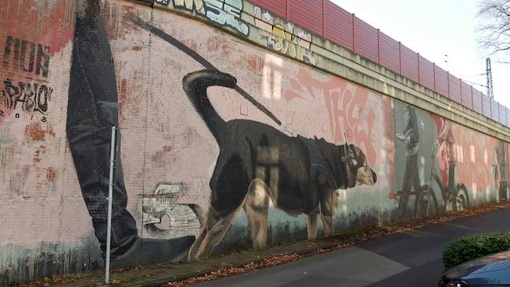 """Die """"Mauergalerie"""""""