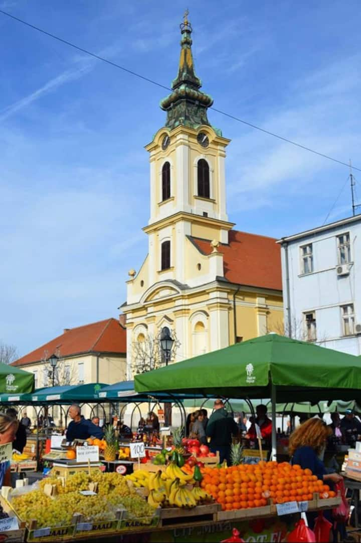 Zemun market  (open local market)