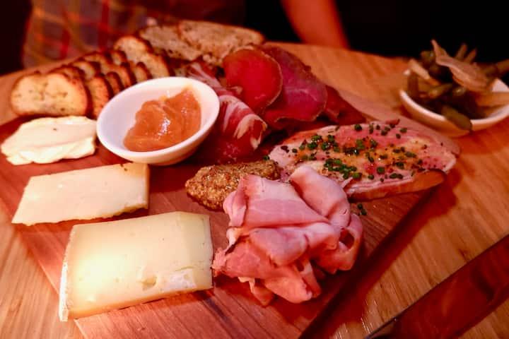 Local Charcuterie & Cheese