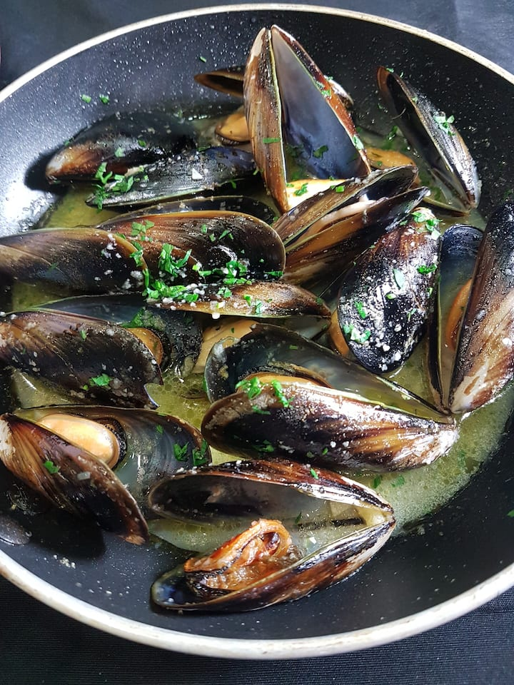 mussels action