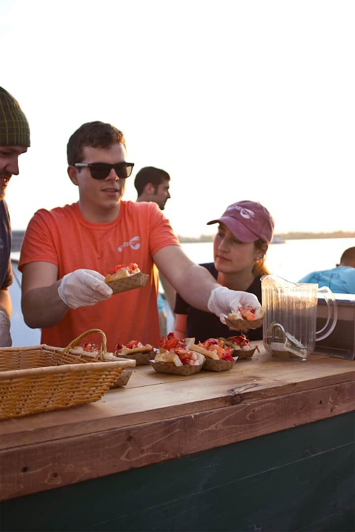 slingin' lobster...