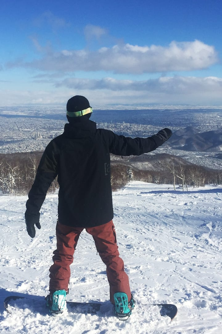 Amazing views over Sapporo City
