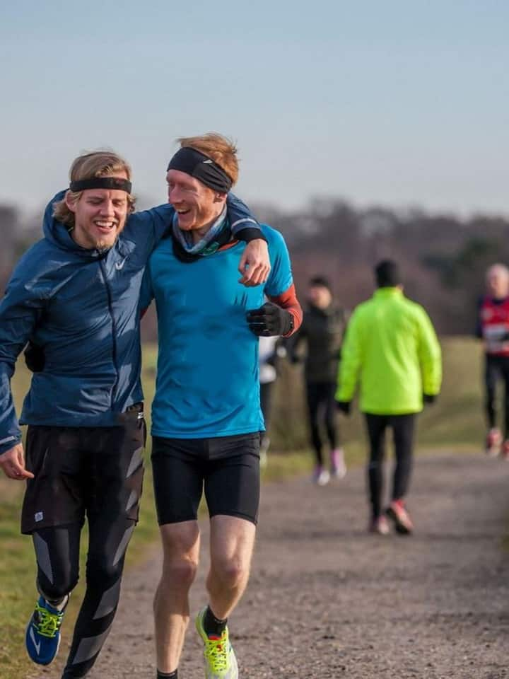 Running creates friendships