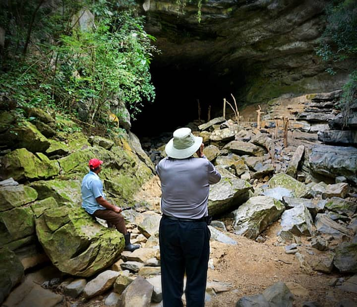 Explore the unspoiled Cueva del Farallon