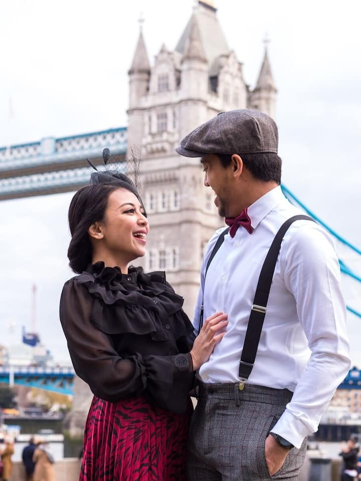 Couple photoshoot in London
