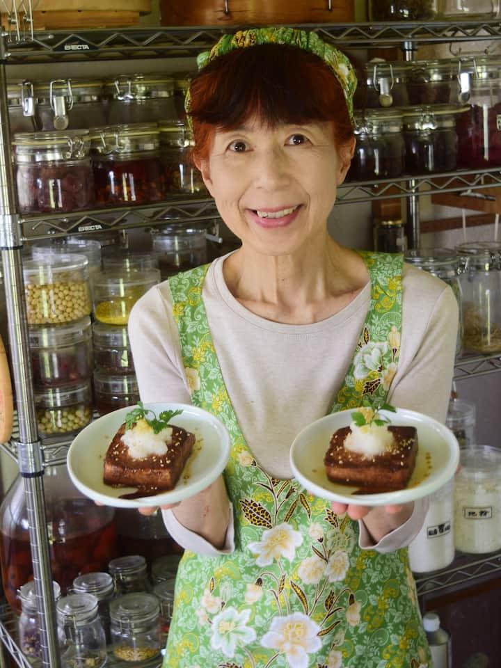Nana with Tofu Steak