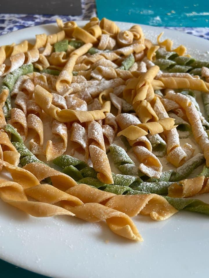Colourful Pasta