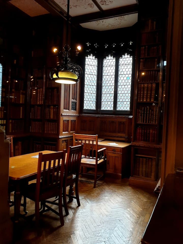 Inside of John Rylands Library