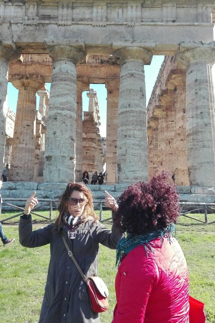 Il tempio cosiddetto di Nettuno