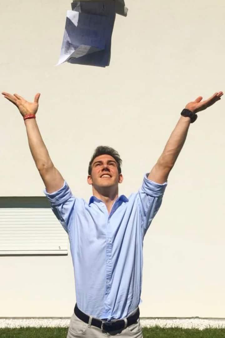 Quando finalmente passo un esame all'uni
