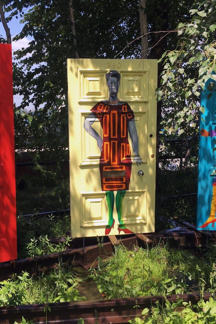 Art on the High Line