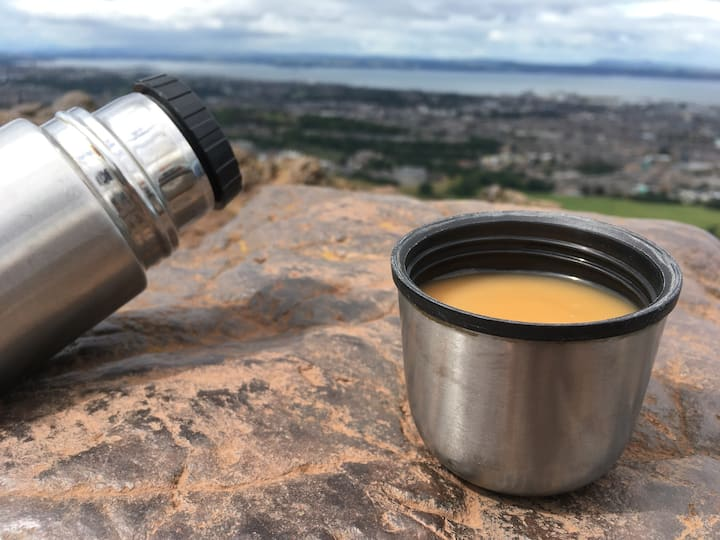 time for tea at the top
