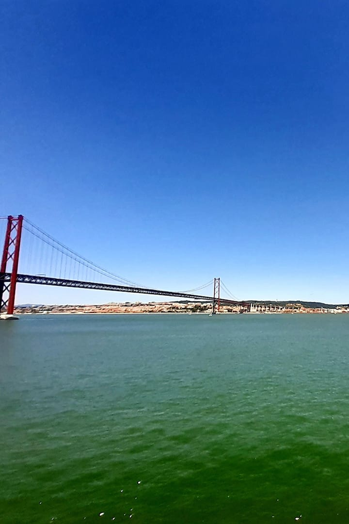 The mighty Tagus River and Lisbon city