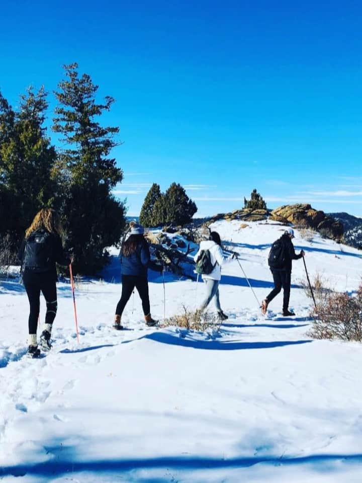 We hike all year round!
