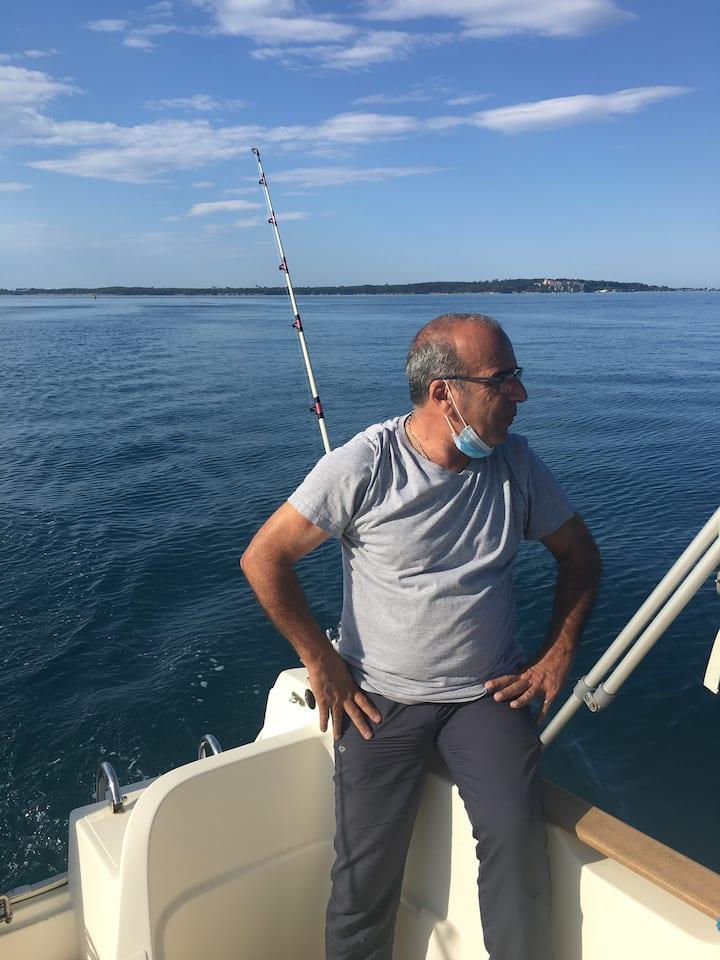 Observation de zone de poissons