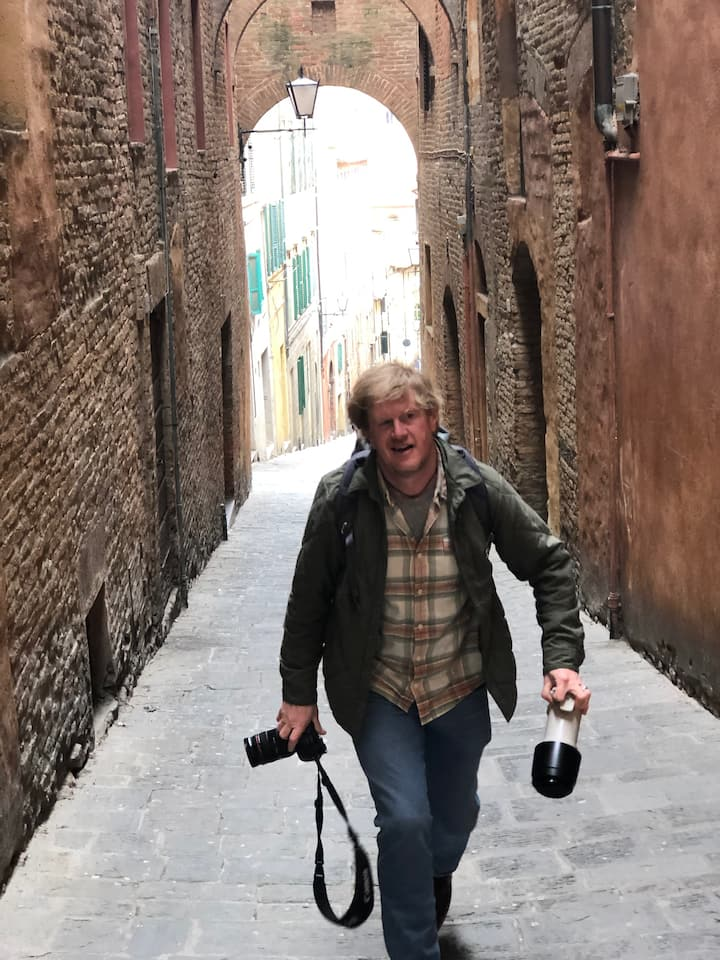 Walking tour of Siena