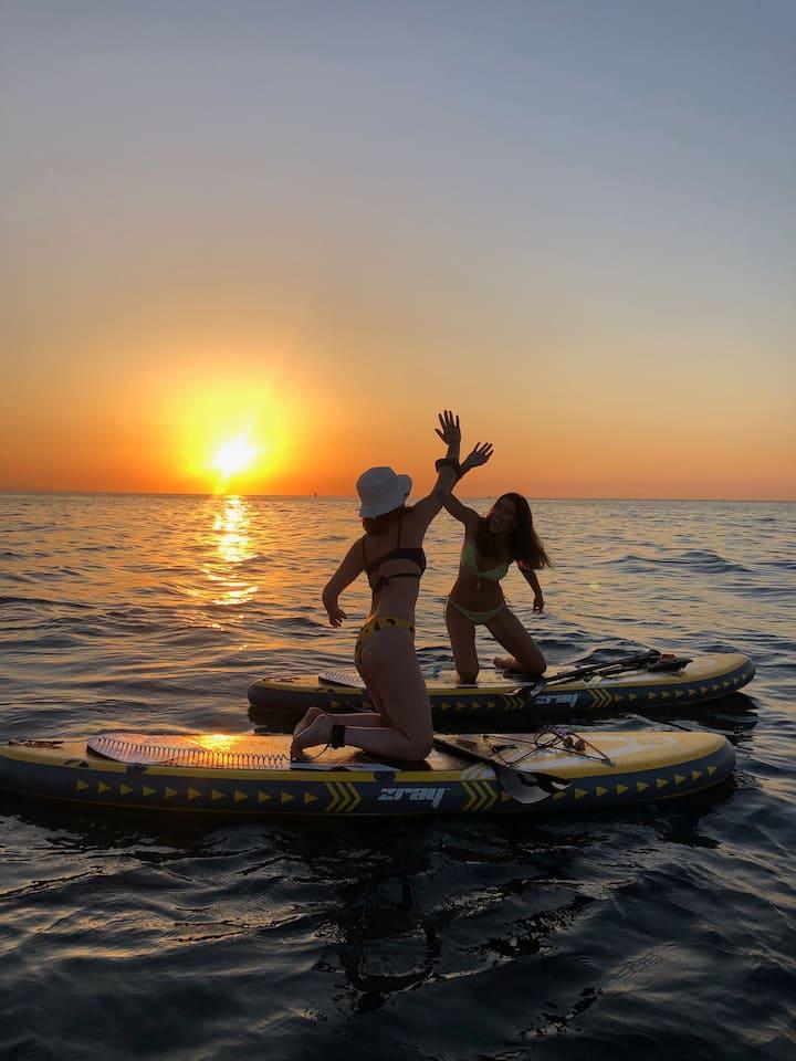 Enjoy Paddlesurf Barcelona