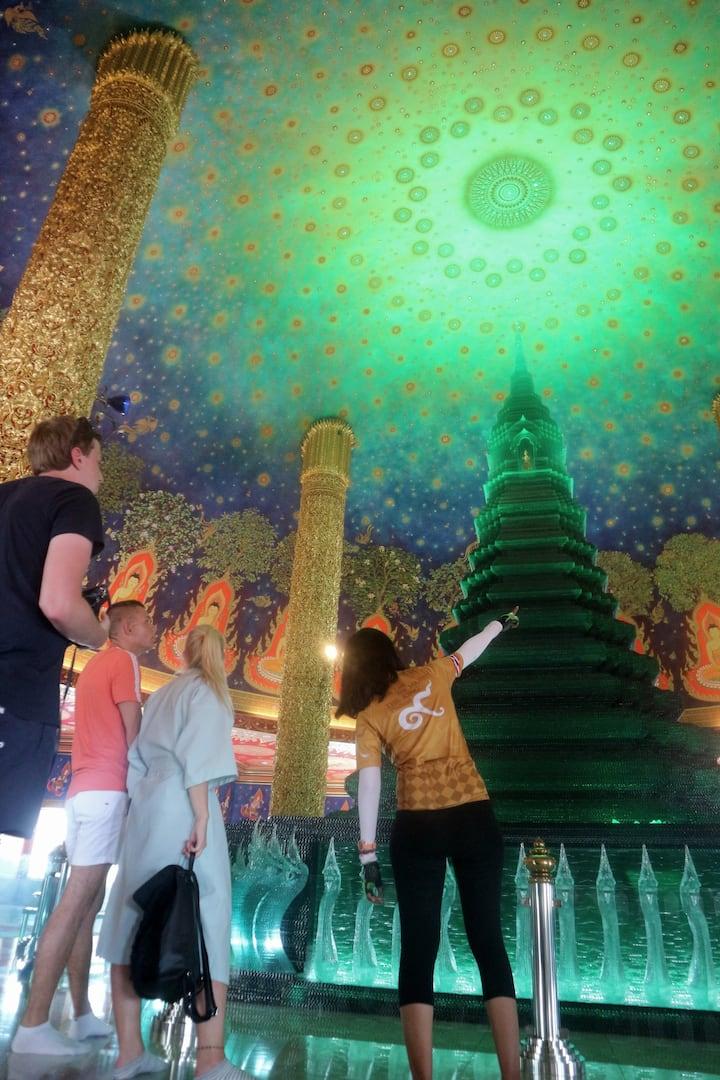 Explore local temples