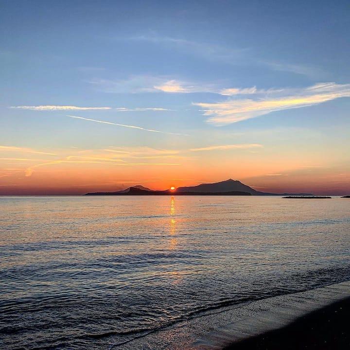 Procida da Bacoli al Sunset