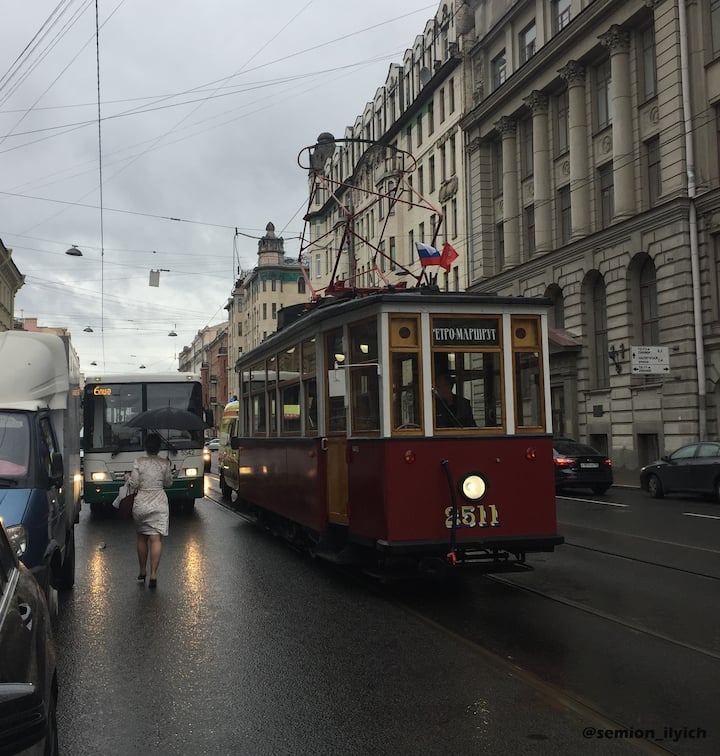 Истоический трамвай