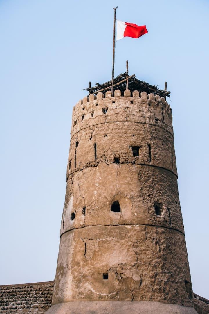 Watch Tower @ Al Fahidi Fort