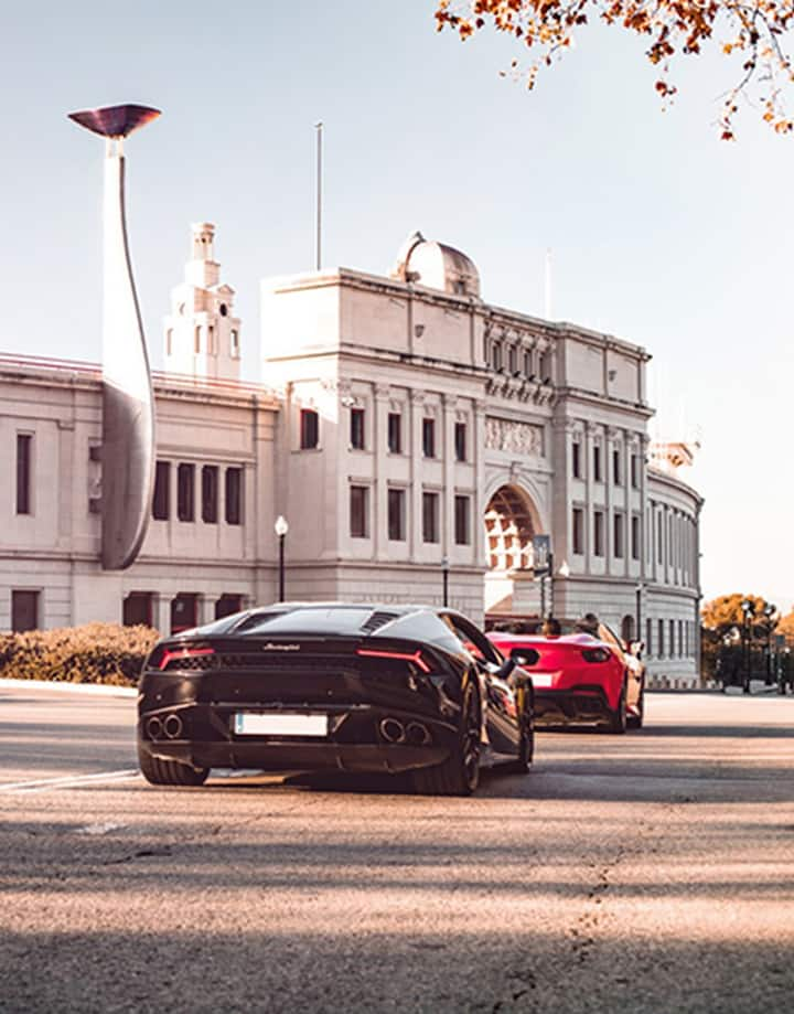 Experience the supercar power