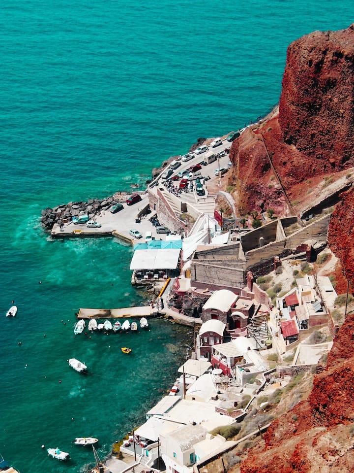 """Oia Port """"Ammoudi"""""""