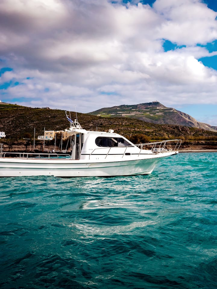 Oia Motor Boat