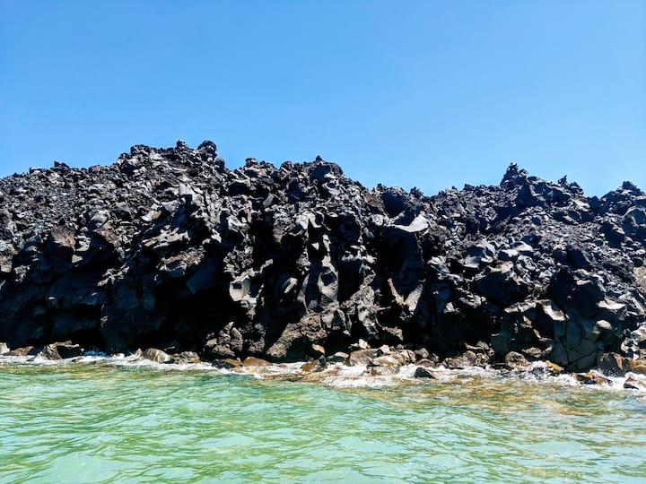 Volcano coast