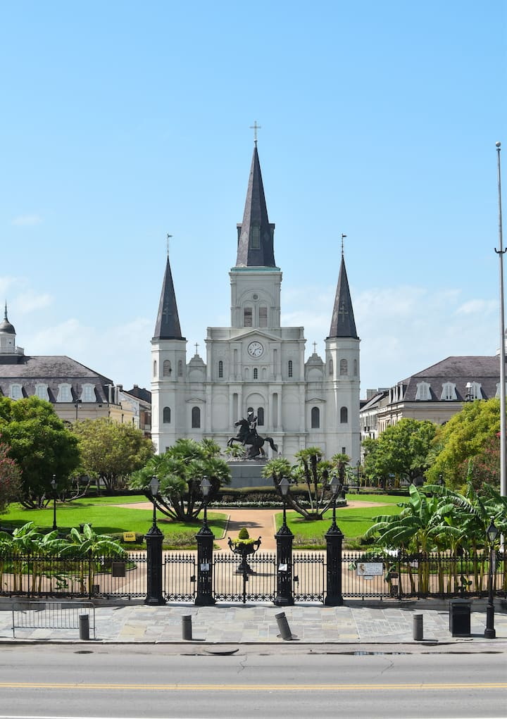 Jackson Square in the French Quarter.