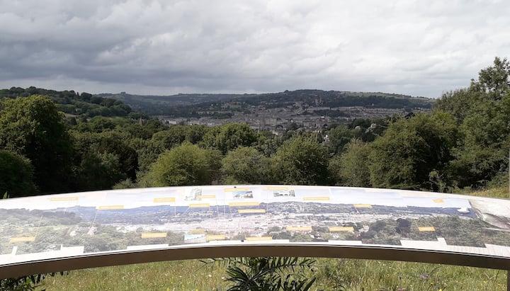 Bath skyline