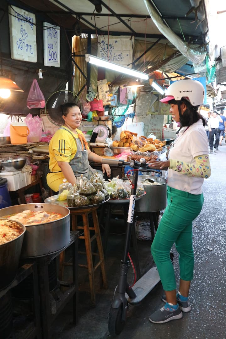 Try local street food