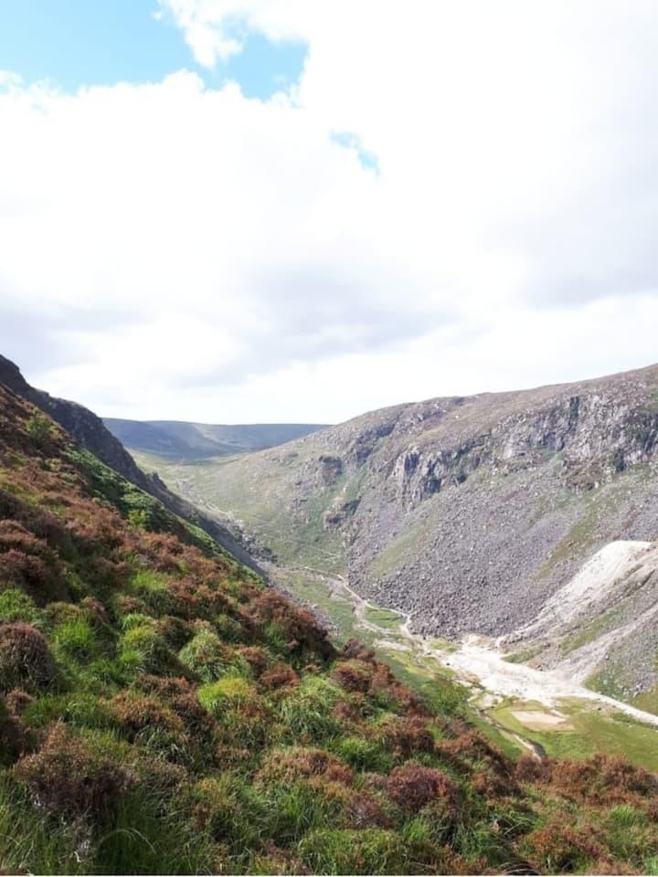 Views of Glendalough Valley