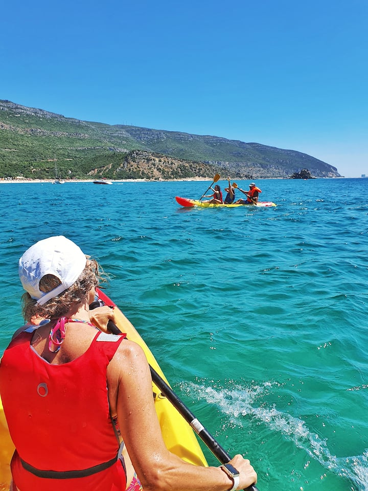 paddling through paradise