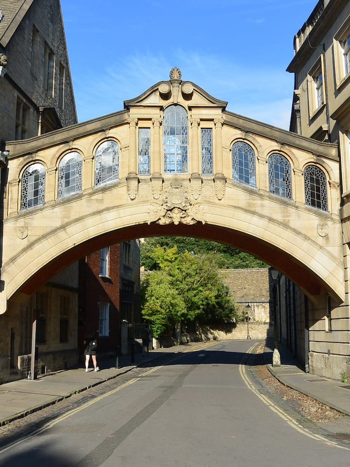 The famous Bridge of Sighs