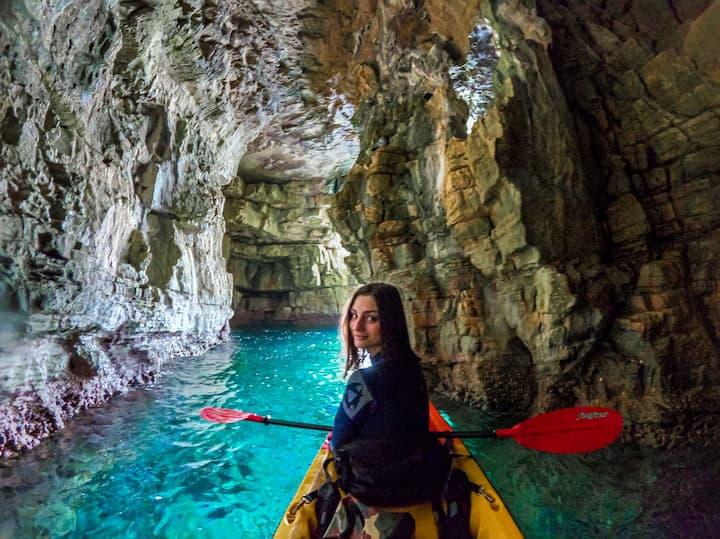 SeaGull cave entrance