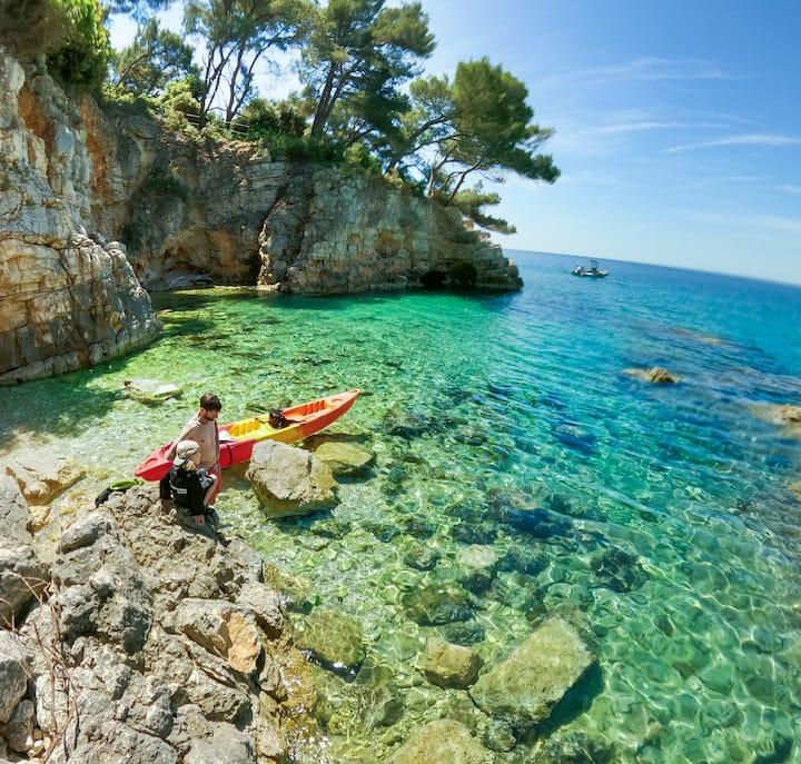 Turquoise lagoon snorkeling