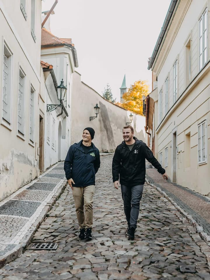 """""""walking"""" you through historical Prague"""