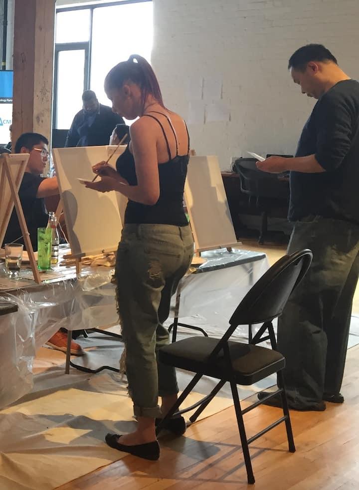 tackling the canvas