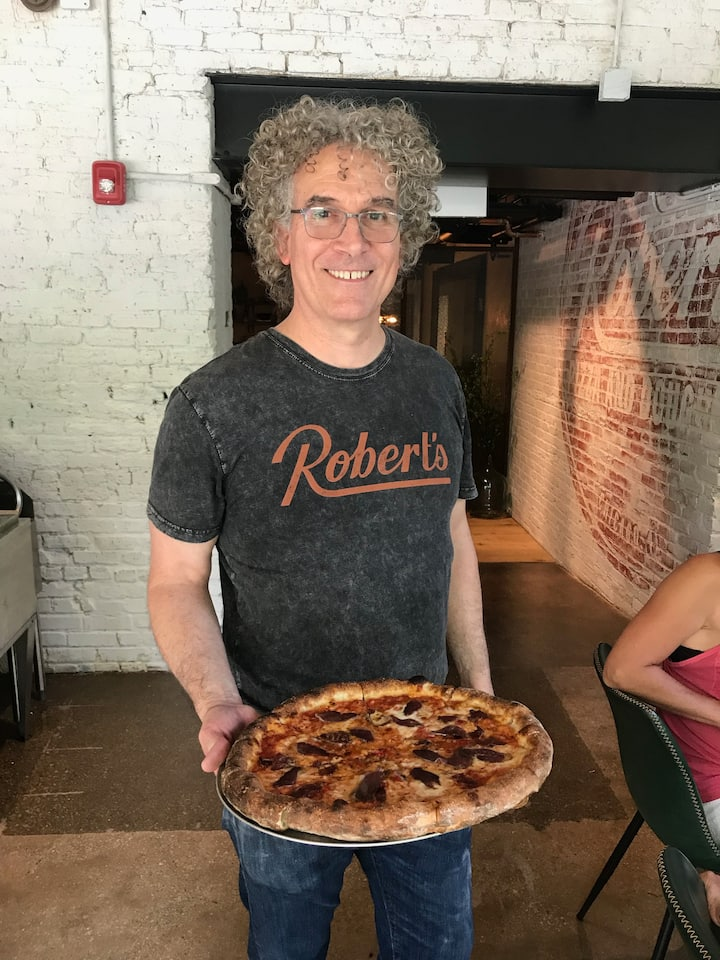 Robert Garvey, Owner of Robert's Pizza