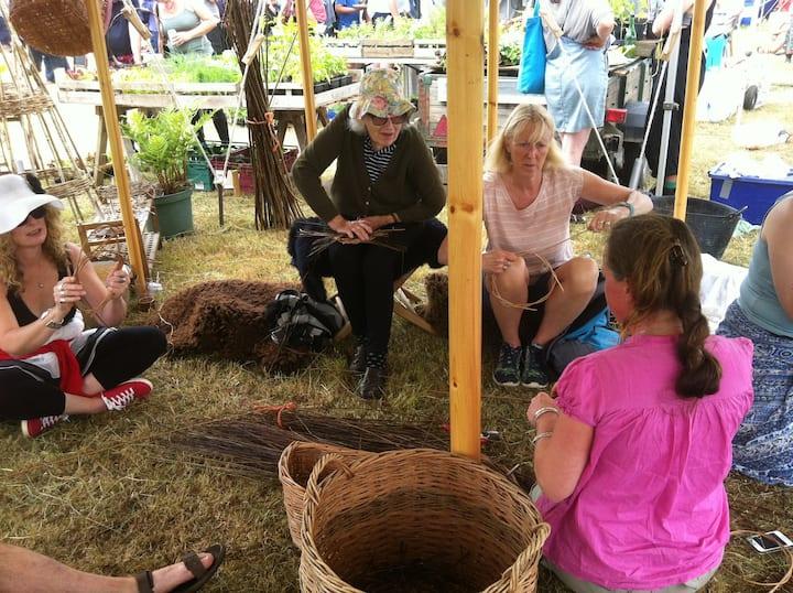 Workshops at Festivals