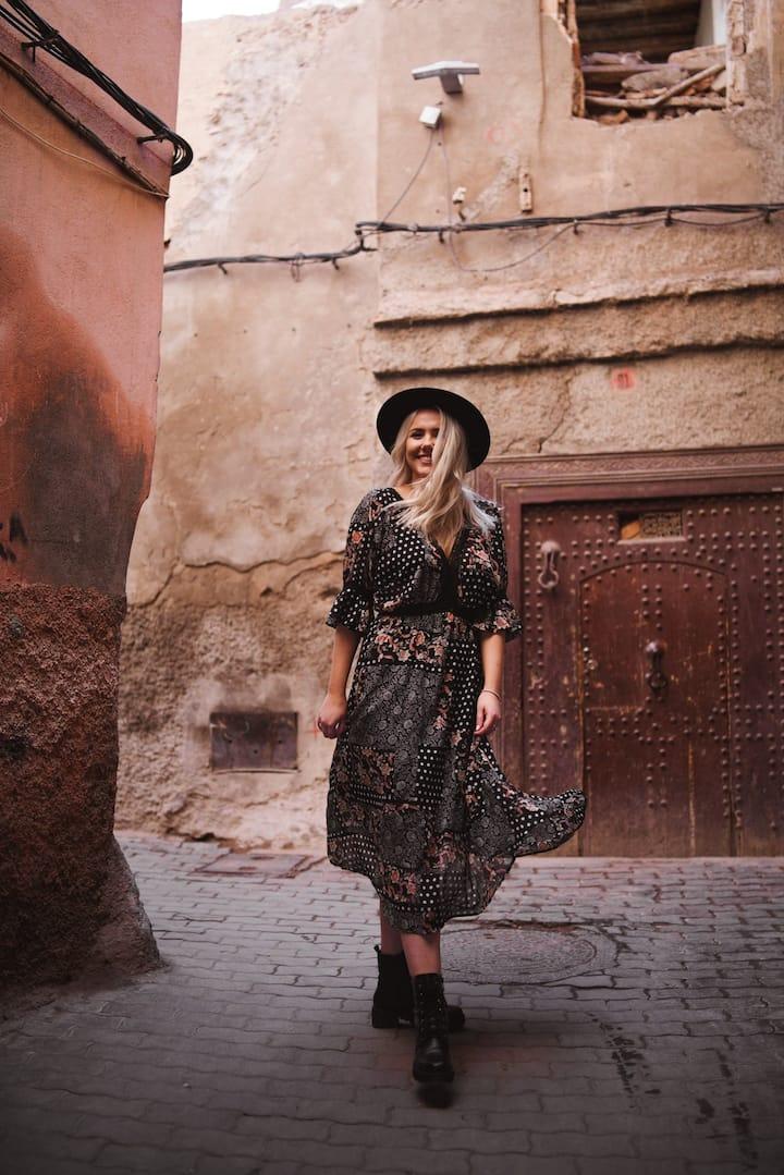 Lifestyle marrakech photography