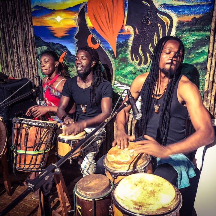 African Drumming Wed & Fri nights.