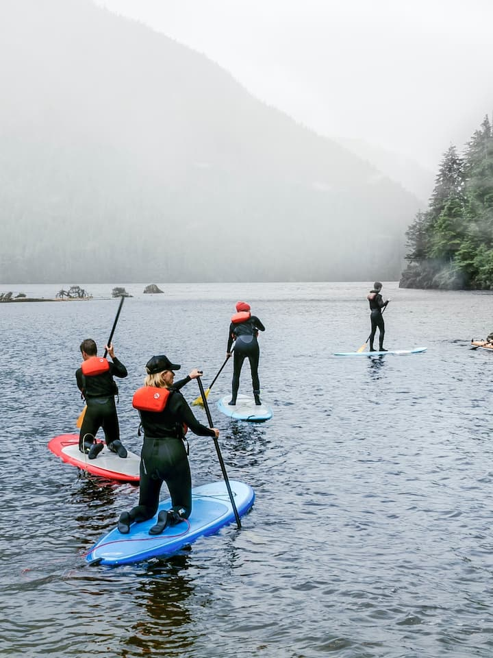 Learn and perfect your paddling skills