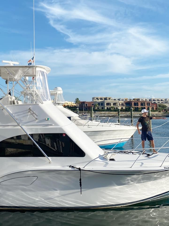 Preparándose para salir de Marina