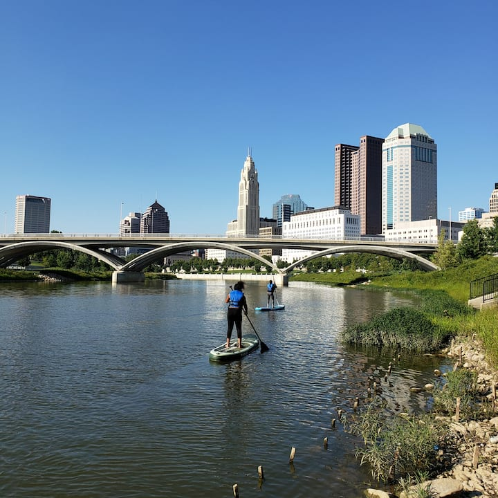 Launching on the Scioto River