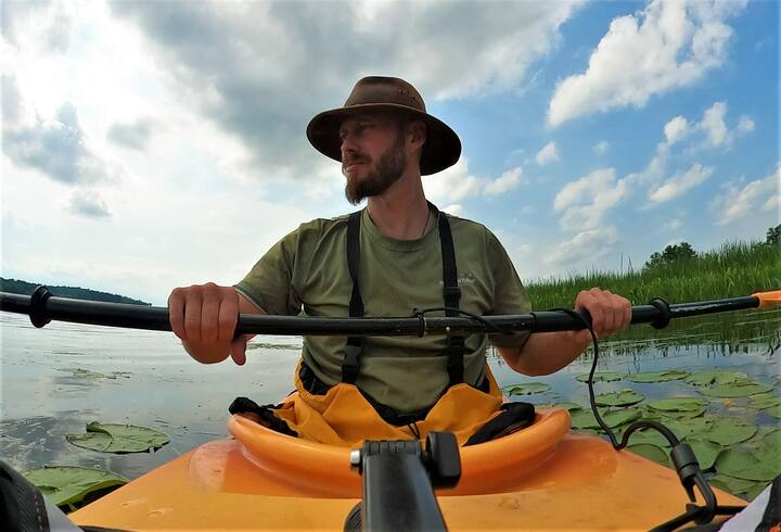 Me Kayaking Montreal