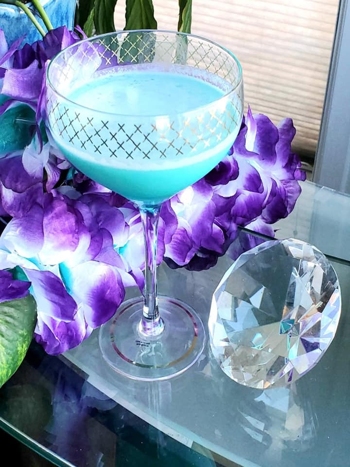 Our Blue Hawaiian will take you there